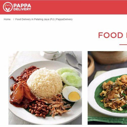 Local Food Delivery Services in Petaling Jaya Malaysia