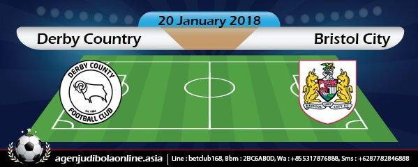 Prediksi Derby Country Vs Bristol City 20 January 2018