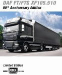 """DAF """"80th anniversary edition"""" - DRIVEN BY QUALITY"""