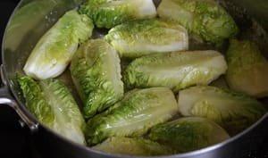 Salade cuite en chiffonnade - Recette de salade cuite express - Recette par Chef Simon