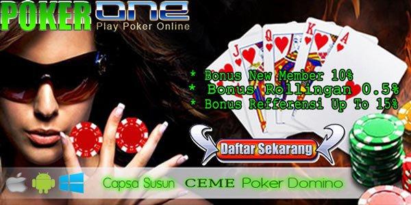 Judi Poker Online Terpercaya yang Terbesar dan Terbaik Indonesia 2017