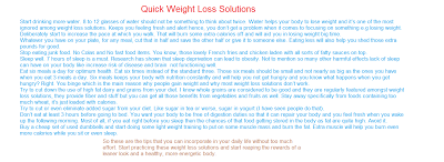 The Best Solutions: Diet Plans to Lose Weight