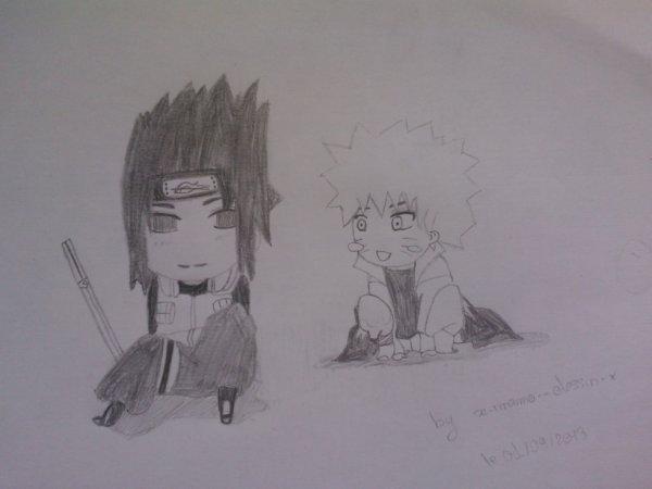 Chibi : Naruto - Sasuke