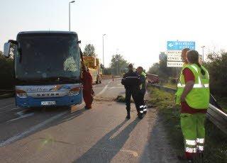Accident d'autocar