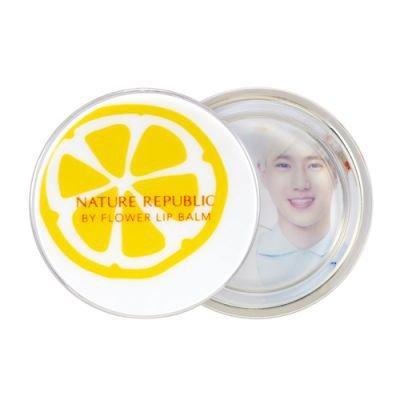 NATUREREPUBLIC/ (EXO Picture Random Gift) Bye Flower Tint Lip balm No3 Honey Lemon (SUHO)
