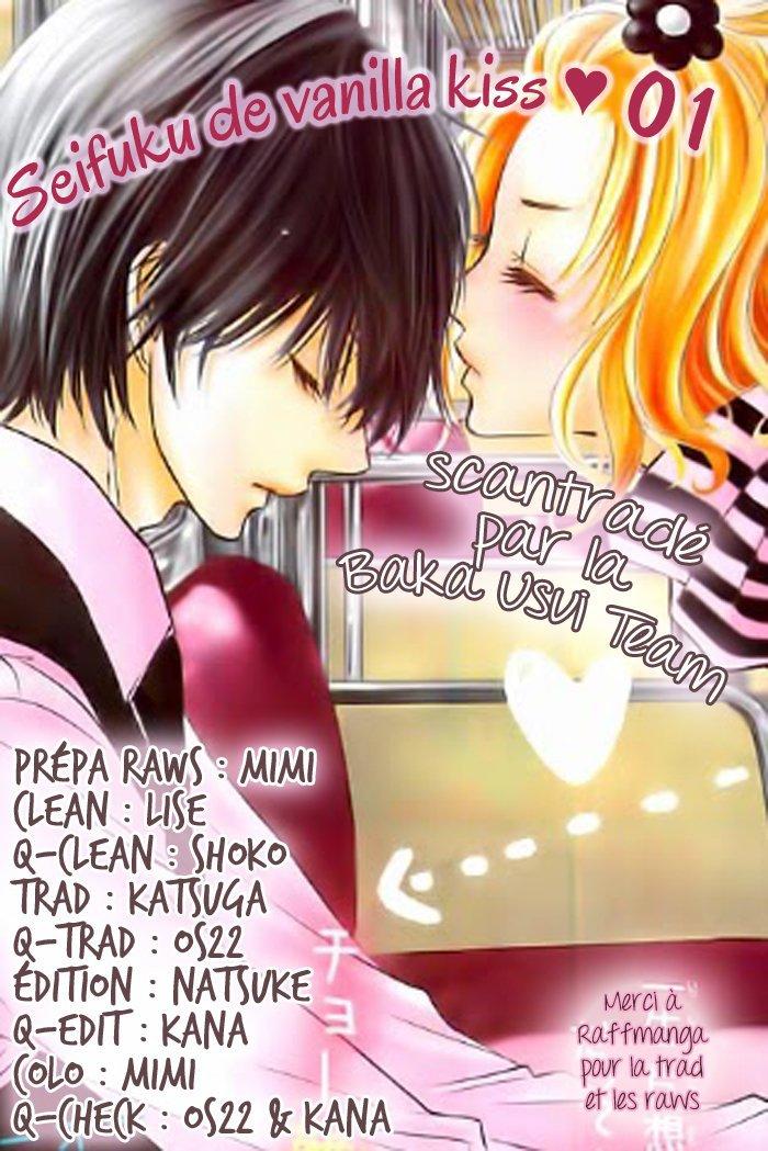 Seifuku de Vanilla Kiss chapitre 1 page 01 en lecture en ligne (LEL) | Lecture-en-ligne.com