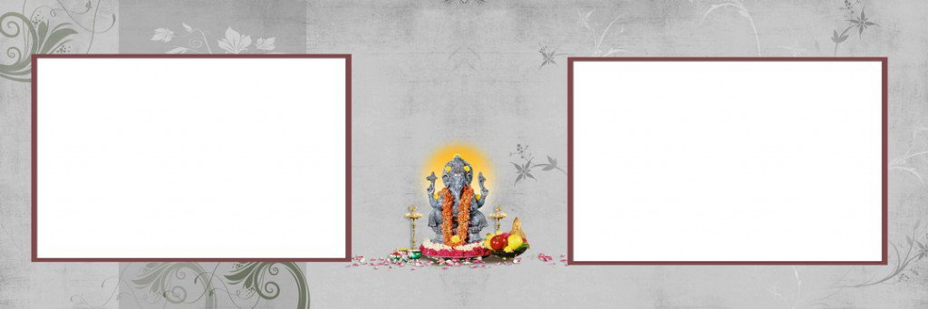 Shree Ganesh Photo Backgrounds PSD Free Download