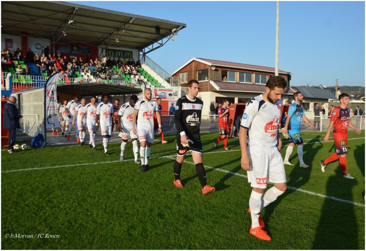 Les photos de la victoire 3-1 sur la pelouse du @SUDivesCabourg #Rouen #TeamFCR #Normandie