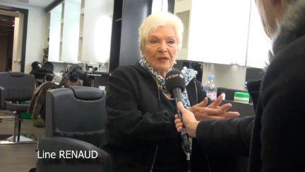 Line Renaud en tournage en Belgique du 17 février 2014, divers : RTBF Vidéo
