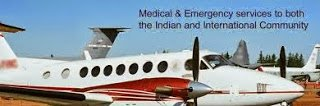 Global Air Ambulance Services in India