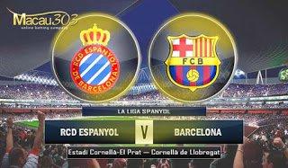 IDN SPORTSBOOK MACAU303: Prediksi Judi Bola Espanyol vs Barcelona 30 April 2017