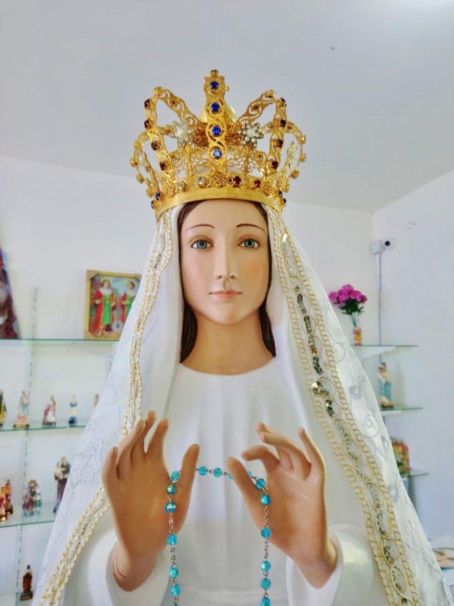 Messages de la Madone & Notre Seigneur (Itapiranga -Brésil) reçus les 13-14-15 Juillet 2018….par Edson Glauber* Convertis-toi, mon peuple, car voici, que le Grand et Terrible Jour vient, où to...