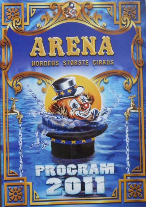 A vendre / On sale / Zu verkaufen / En venta / для продажи :  Programme cirkus ARENA 2011