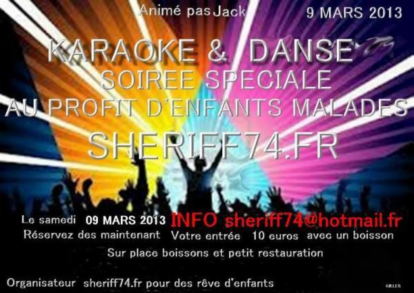 grande soirée Karaoké 9 MARS 2013 le 2013-01-23 - Haute-Savoie, Rhône-Alpes - Chezmatante.fr