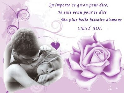 Mots  et Phrases d'Amour    ♥ ♥ ♥