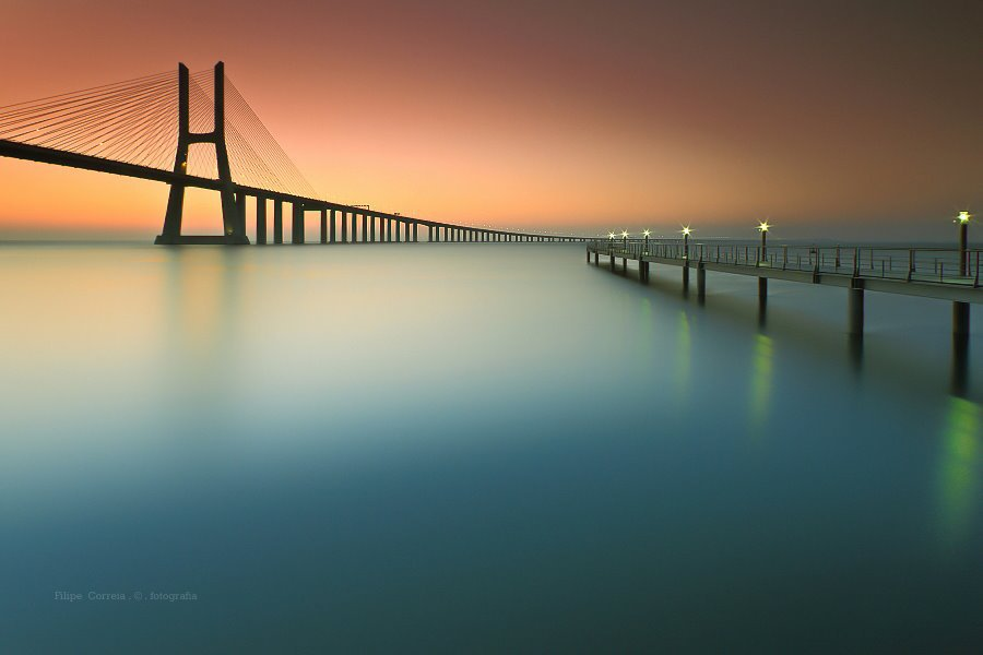 SILENT WATERS...bridging.....