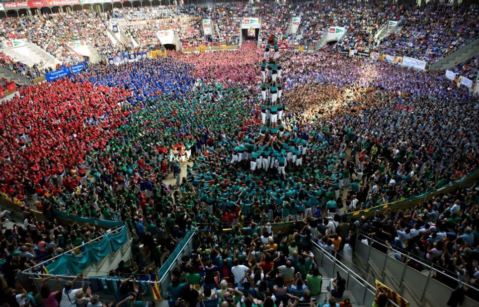 24th Annual Tarragona Castells Competition 2012