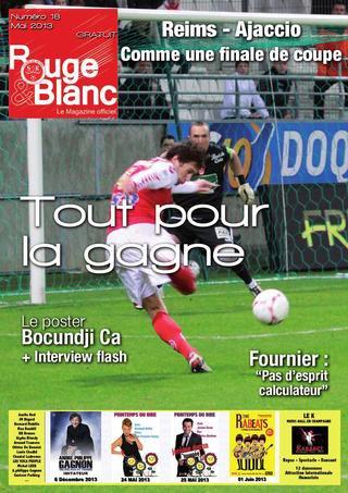 Rouge et Blanc - Magazine Officiel du Stade De Reims