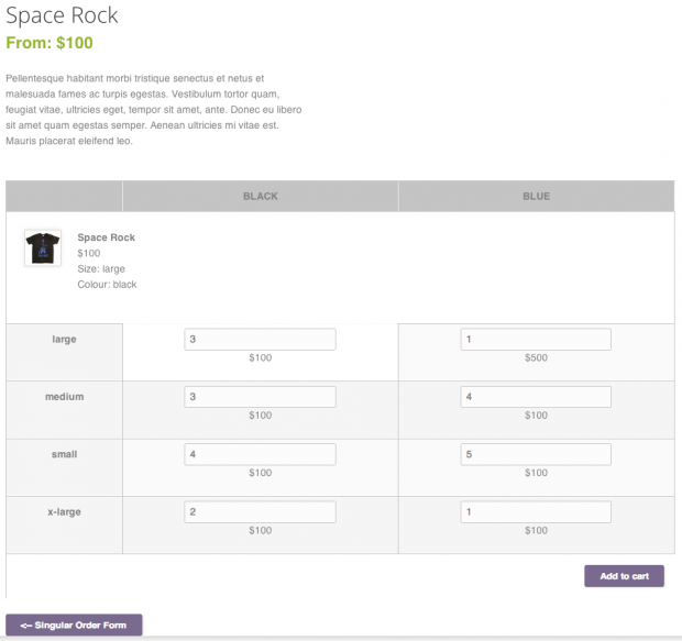 WooCommerce Bulk Variation Forms 1.5.1 Extension - Get Lot