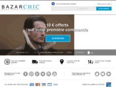 Bazarchic : Site de vente privée d'articles de mode, déco et enfants