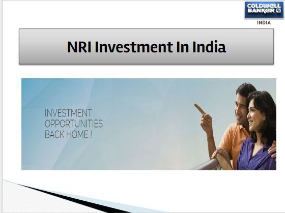 Investment opportunities in India for NRI