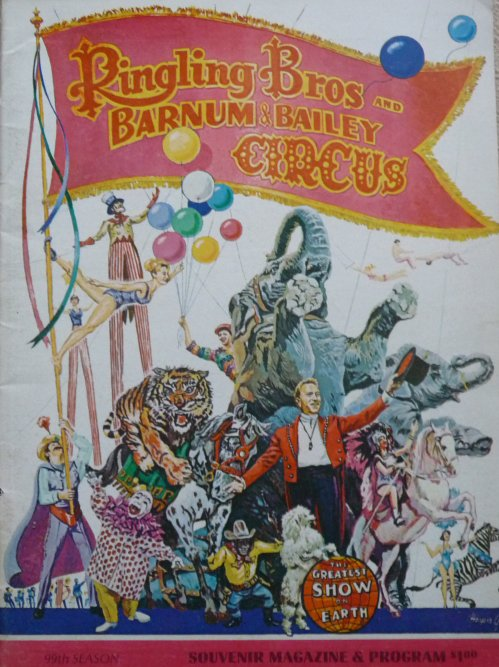 A vendre / On sale / Zu verkaufen / En venta / для продажи :  Programme RINGLING BROS AND BARNUM & BAILEY CIRCUS 99th Season 1969 - 2