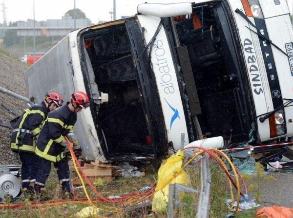 11-09-2012 - France - Mulhouse - Un autocar Polonais de chez Albatr...