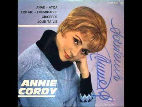 'For Me, Formidable' par Annie Cordy, en 1963