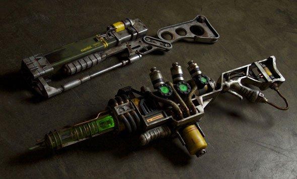 Bad Ass Fallout 3 A3-21 Plasma Rifle Replica