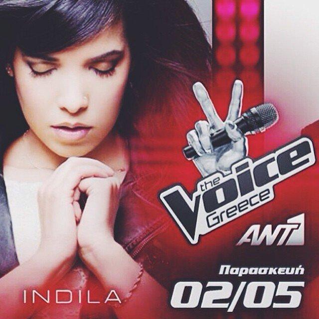 Indila sera coach dans The Voice en Grece