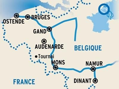 De la Mer du Nord vers la Vallée de la Meuse | CroisiEurope