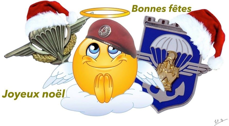 NOEL  DES PARAS  !!! - UNION NATIONALE DES PARACHUTISTES - SCETION  Erwan BERGOT