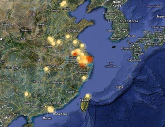 Chine - Virus H7N9 : l'épidémie progresse