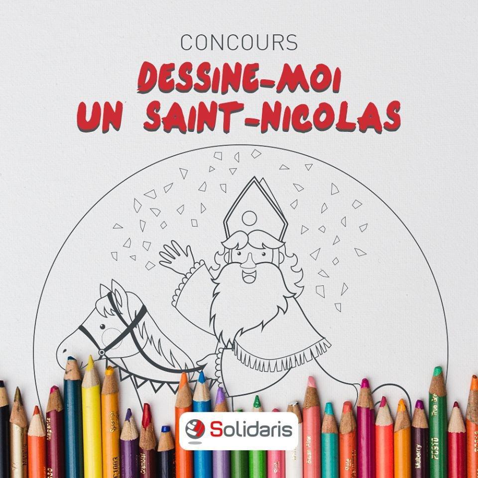 Solidaris - Saint Nicolas ne portait pas de croix sur sa mitre comme prétendent des populistes belges