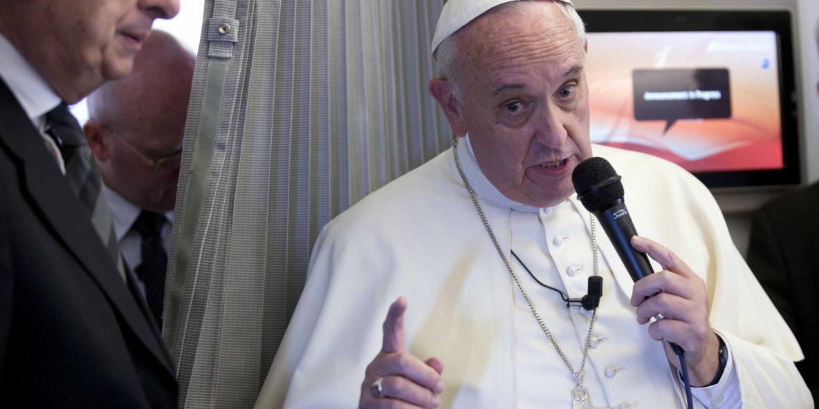 Religions VS liberté d'expression : le Pape tient un discours dangereux