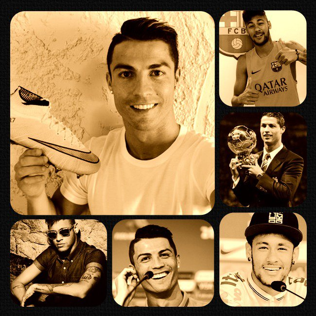 Joyeux anniversaire Ronaldo et Neymar ♥