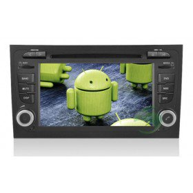 Android 4.0 Auto DVD Player GPS Navigationssystem für Audi A4(2002 2003 2004 2005 2006 2007 2008.09)