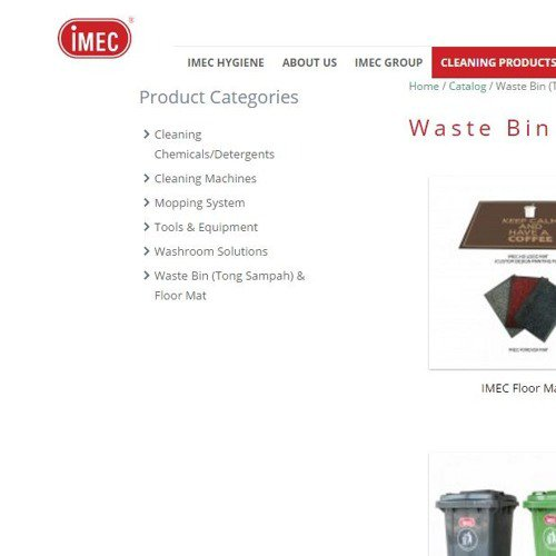 Commercial Rubbish Bin for Malaysia Businesses