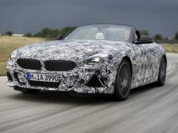 Premiers tours de roue de la nouvelle BMW Z4