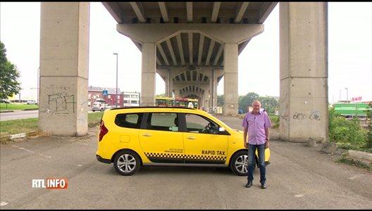De nouveaux taxis jaunes et noirs dans les rues de Charleroi
