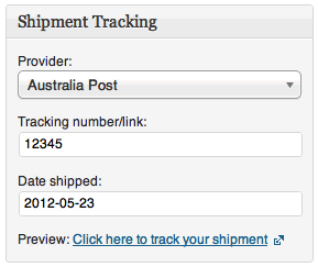 WooCommerce Shipment Tracking 1.6.3 Extension - Get Lot
