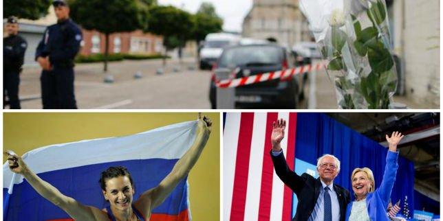 Attentats, présidentielle américaine et Jeux de Rio: le rattrapage de l'actualité