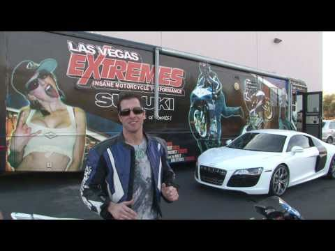 Las Vegas Extremes - Insane Motorcycle Stunts, Tricks, & Performance