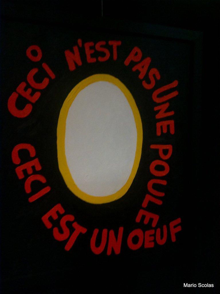 Du René Magritte à l'envers en quelque sorte !