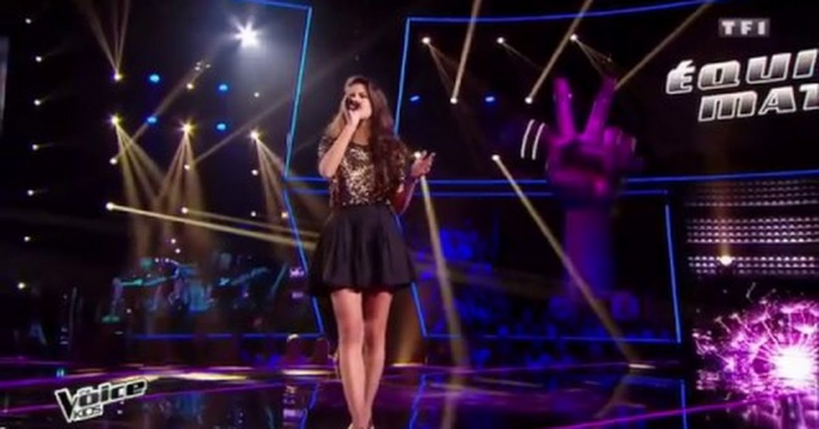 the voice kids 3 demie finale marine the voice kids france. Black Bedroom Furniture Sets. Home Design Ideas