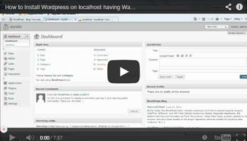 How to Upload And Install Wordpress In Local Host For Wamp Server