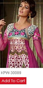 Indian Designer Churidar Anarkali Suits at Efello