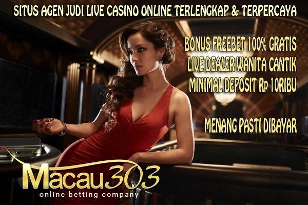 Judi Live Casino Baccarat Blackjack Sicbo Roulette Online