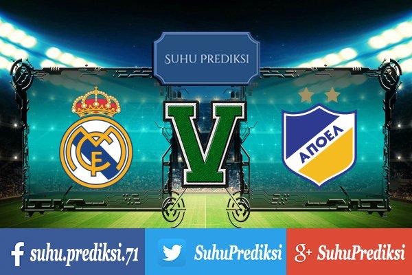 Prediksi Bola Real Madrid Vs Apoel 14 September 2017