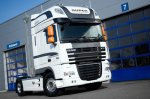 "DAF XF 105 ""white edition"" - DRIVEN BY QUALITY"